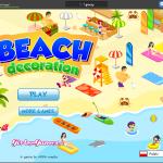 Dekorowanie plaży - GryOnLine